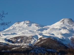 Postal: Volcanes: Nevados de Chillán (Chile)
