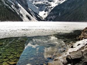 Lago en deshielo
