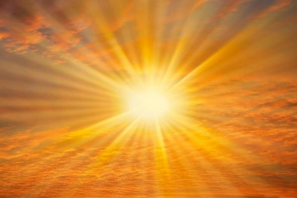 La cegadora luz del sol