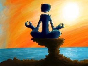 Meditación en el mar