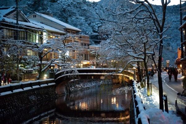 Nieve en Kioto