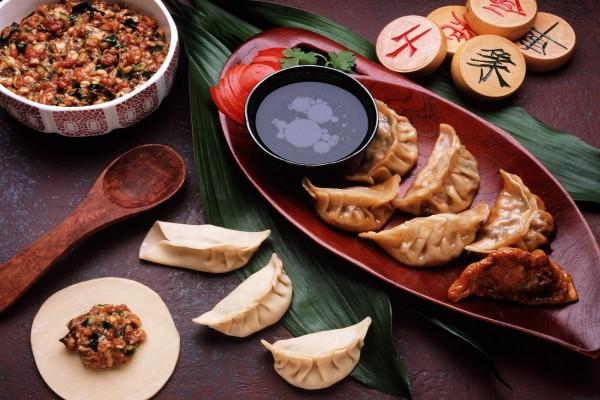 Empanadillas chinas (jiaozi)