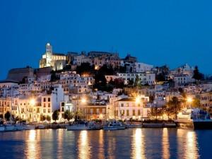 Postal: La noche de Ibiza