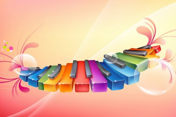 Teclas de colores