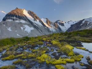 Amanecer en las montañas