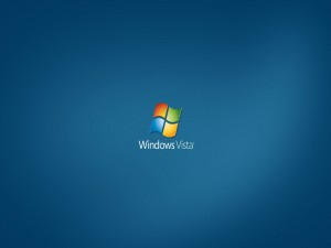 Windows Vista bajo el logo
