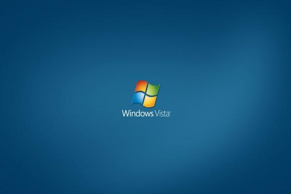 Windows Vista bajo el logo