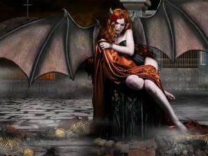 Vampiresa solitaria