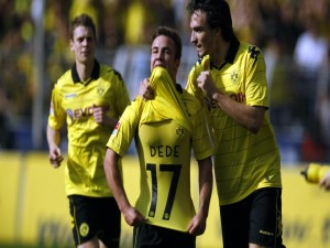 Postal: Jugadores del Borussia Dortmund