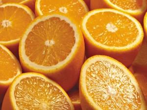 Postal: Medias naranjas