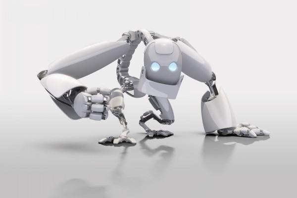 Robot enfadado