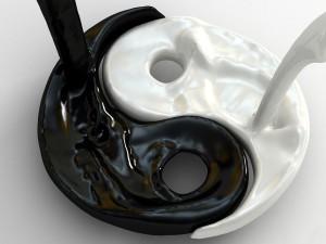 Fuerzas líquidas: yin y yang
