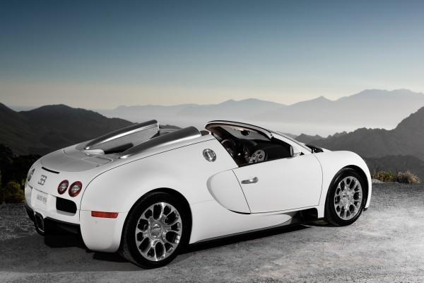 Bugatti Veyron Grand Sport, en un bello lugar