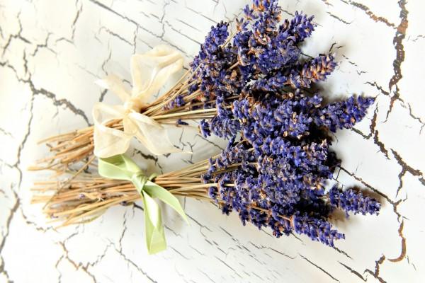 Ramos de flores color lavanda