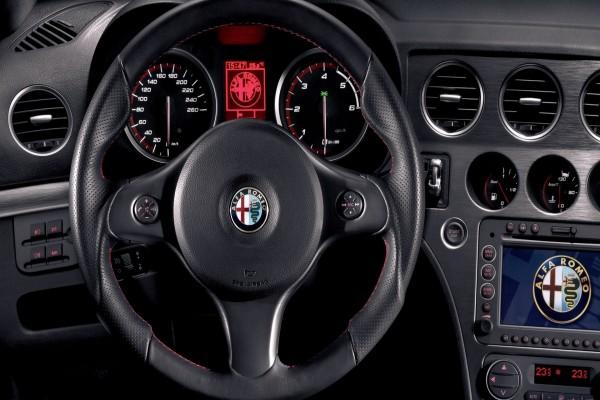 Volante de un Alfa Romeo