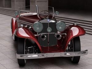 Postal: Mercedes-Benz 540K