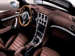 Interior de un Alfa Romeo