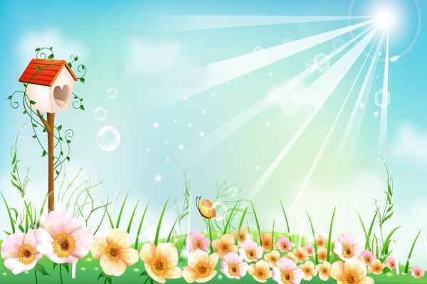 Un bonito día entre las flores