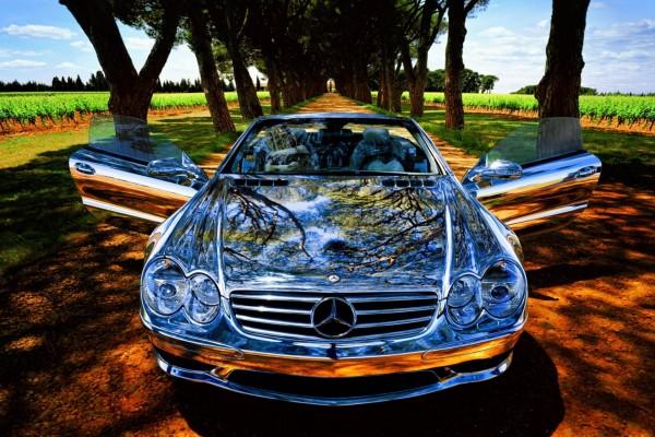 Mercedes brillante