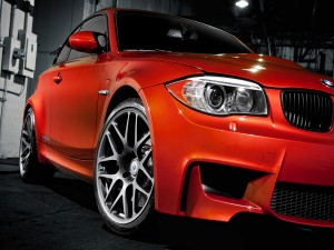 Postal: BMW rojo