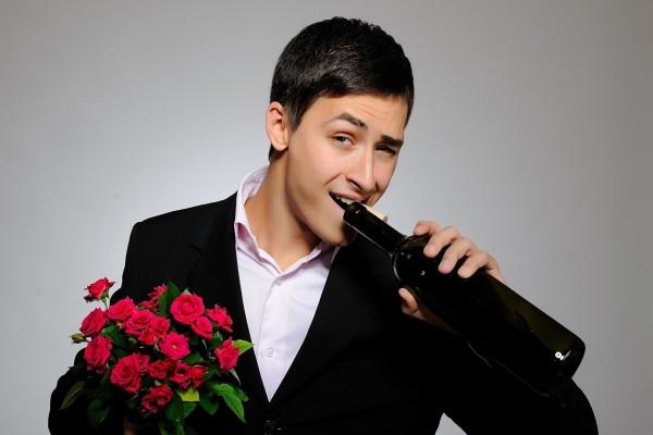 Preparado para la cita romántica