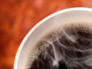 Postal: Humo en el café