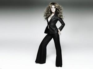 Postal: Céline Dion espectacular