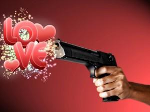 Disparando amor