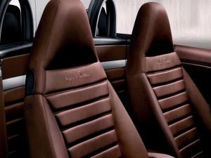 Asientos de un Alfa Romeo
