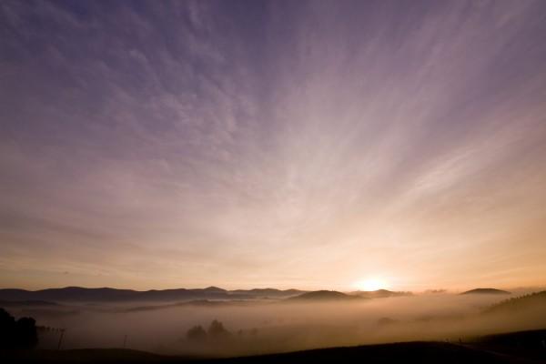 Un bonito amanecer