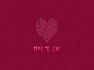 Postal: Tiempo de amar