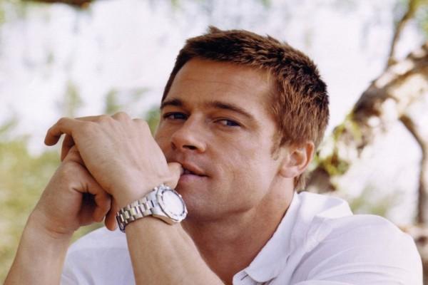 La mirada de Brad Pitt
