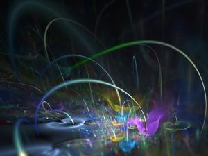 Postal: Explosiones de color