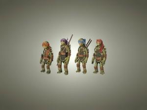 Postal: Las Tortugas Ninja