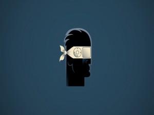 Postal: Cabeza de hombre