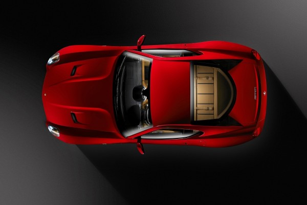 Ferrari visto desde las alturas