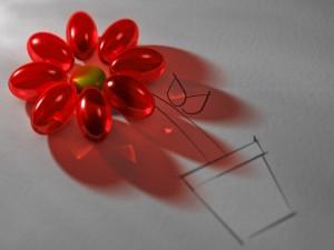 Postal: Bonita flor
