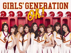 Postal: Girls' Generation Oh!