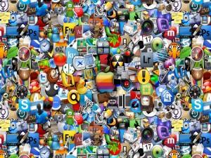Postal: Iconos de aplicaciones iOS