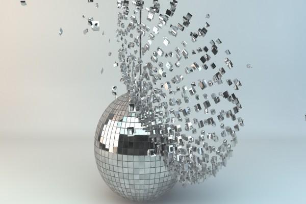 Piezas de la bola de discoteca