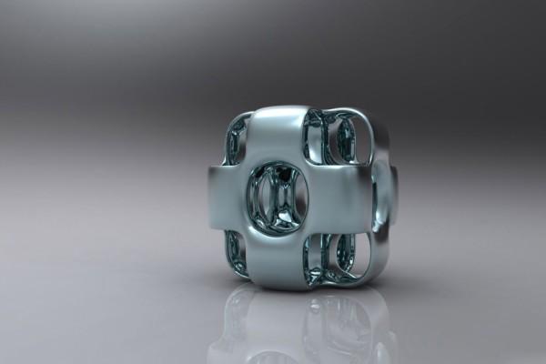 Cubo con agujeros