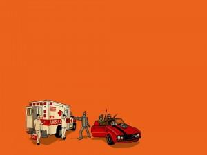 Atraco a la ambulancia