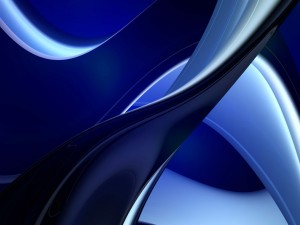 Líneas curvas color azul