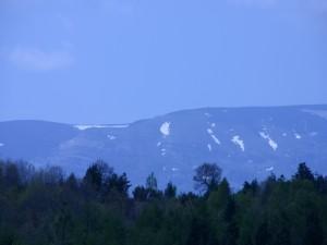 Un poco de nieve en mayo