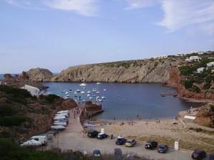 Postal: Cala Morell, Menorca