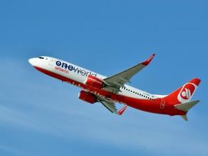 Postal: Air Berlin Boeing 737-86J