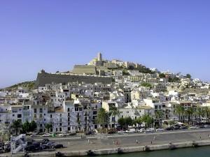 Ibiza vista desde el mar