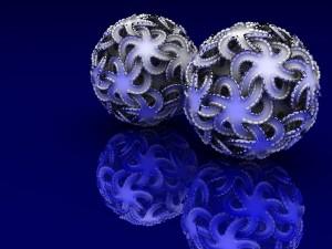 El reflejo de dos esferas
