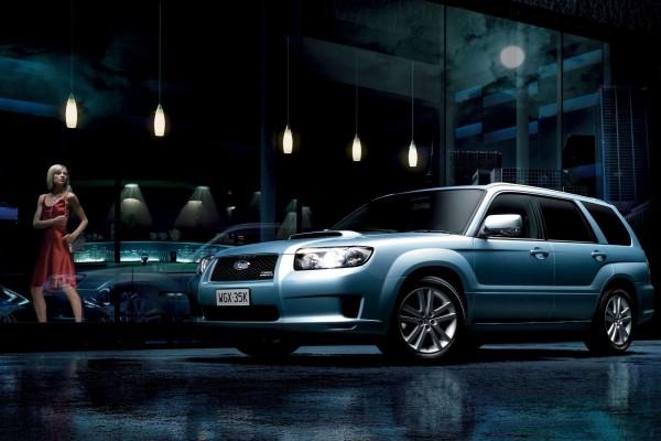 Admirando un Subaru