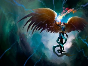 Postal: League of Legends (Kayle)